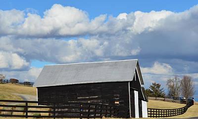 Photograph - Beauty And The Barn by Cathy Shiflett