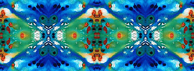 Beauty Art By Sharon Cummings Art Print by Sharon Cummings