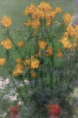 Flor Painting - Beauty Garden by The Art Of Marilyn Ridoutt-Greene