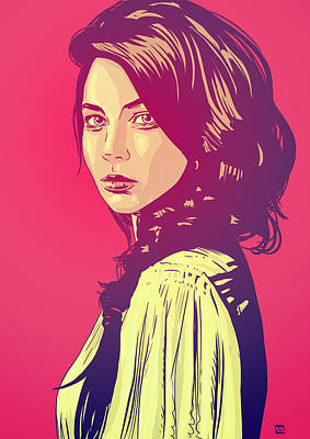 Pop Art Wall Art - Drawing - Beauty by Giuseppe Cristiano