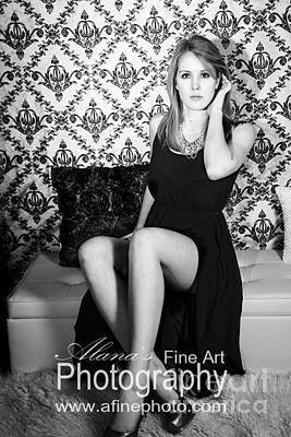 Photograph - Beauty Glamour Portraits  by Alana Ranney