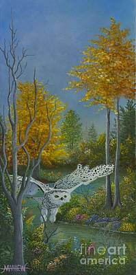 Painting - Beauty In Flight by Matthew Livsey
