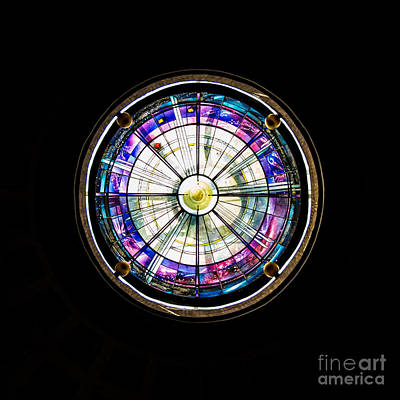 Photograph - Beauty In Stained Glass I by Christina Klausen