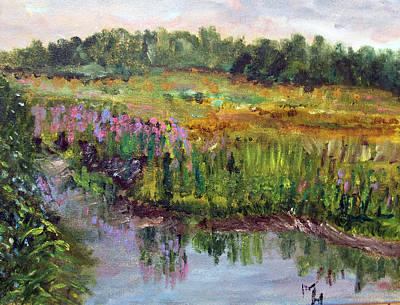 Beauty In The Bog Art Print by Michael Helfen
