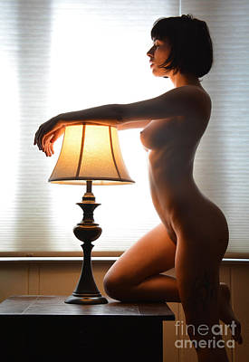 Unclothed Digital Art - Beauty In The Window by Revel Photo