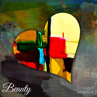 Mixed Media - Beauty by Marvin Blaine