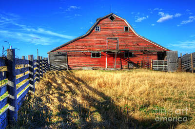 Photograph - Beauty Of Barns 8 by Bob Christopher