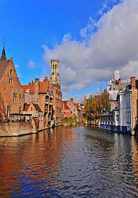 Featured Tapestry Designs - Beauty of Bruges by Elvis Vaughn