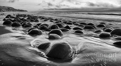 Photograph - Beauty Of California Bowling Ball Beach 1 by Bob Christopher
