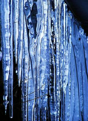 Art Print featuring the photograph Beauty Of Ice by James McAdams
