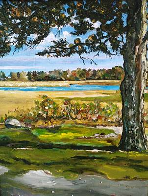 Painting - Beauty Of Southcoast by Ray Khalife