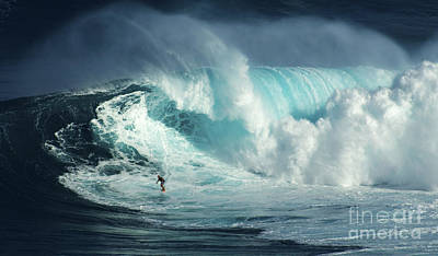 Photograph - Beauty Of Surfing Jaws Maui 3 by Bob Christopher
