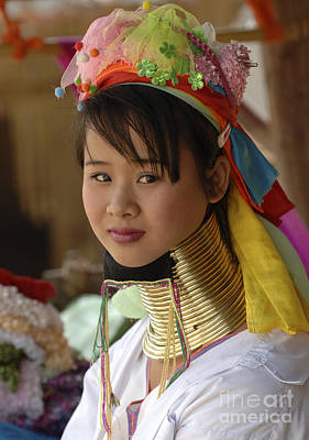 Photograph - Beauty Of Thailand Long Necked Women 1 by Bob Christopher