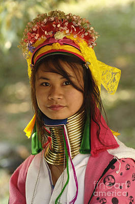 Photograph - Beauty Of Thailand Long Necked Women 2 by Bob Christopher