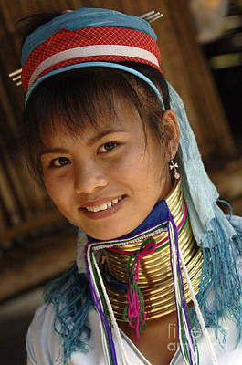 Photograph - Beauty Of Thailand Long Necked Women 3 by Bob Christopher