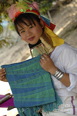 Photograph - Beauty Of Thailand Long Necked Women 5 by Bob Christopher