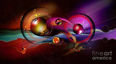 Ball Digital Art - Beauty Of The Matter by Franziskus Pfleghart