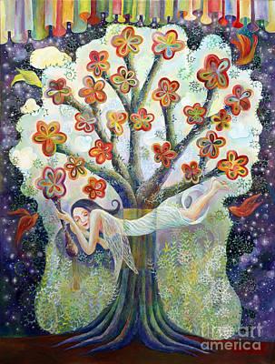 Beauty Of Tree Art Print by Manami Lingerfelt
