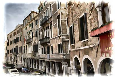 Photograph - Beauty Of Venice by Indiana Zuckerman