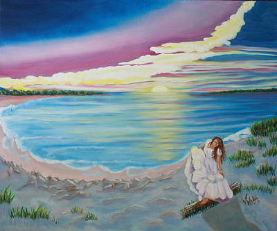 Painting - Beauty On The Bay by Kathern Welsh
