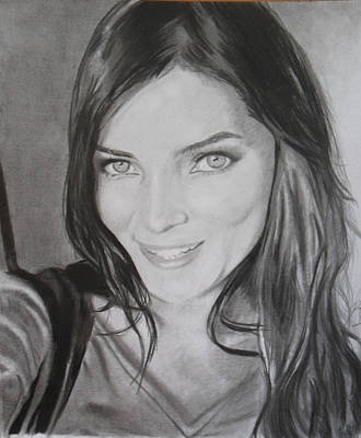 Drawing - Beautyful by Luis Carlos A