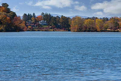 Photograph - Beaver Lake In Asheville by Melinda Fawver