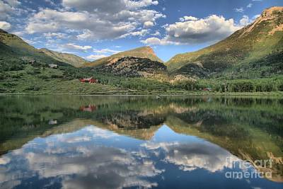 Photograph - Beaver Lake In Marble Colorado by Adam Jewell