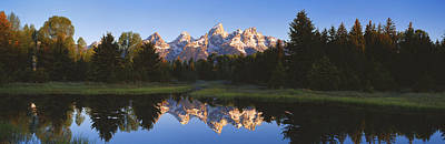 Beaver Pond Photograph - Beaver Pond Grand Teton National Park Wy by Panoramic Images