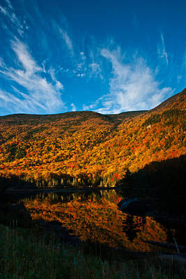 Photograph - Beaver Pond White Mountain National Forest by Benjamin Dahl