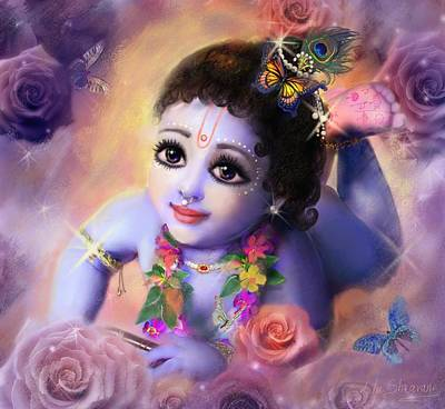 Painting - Baby Kaneya by Lila Shravani