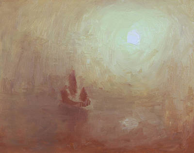 Painting - Becalmed by Anthony Sell