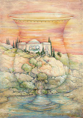 Jerusalem Painting - Becher Landscape by Michoel Muchnik