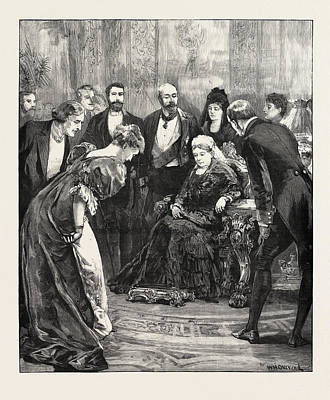 Becket At Windsor Castle Print by English School