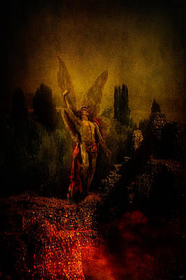 Photograph - Calling Down Lucifer by Chris Lord