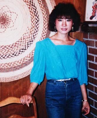Becky Kim Artist Photograph - Becky 1986 by Becky Kim