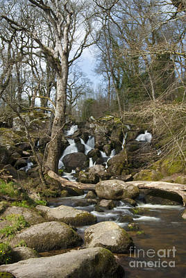 Becky Photograph - Becky Falls Dartmoor by Donald Davis