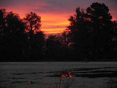 Photograph - Becky's Sunrise Over Alligator Lake by Becky Erickson