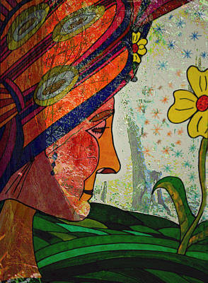 Painting - Becoming The Garden - Garden Appreciation by Marie Jamieson