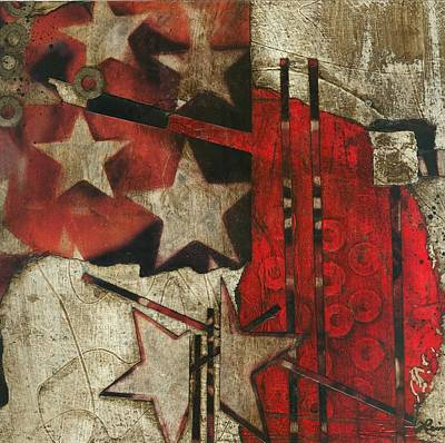 Brown Mixed Media - Becoming The Star That You Are by Laura  Lein-Svencner