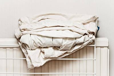 Linen Wall Art - Photograph - Bed Sheets by Tom Gowanlock