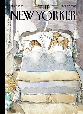 Painting - Bedbugs by Barry Blitt