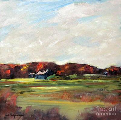 Painting - Bedford Farmland by Shelley Koopmann