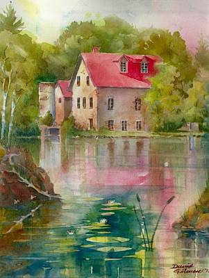 Bedford Mill Art Print