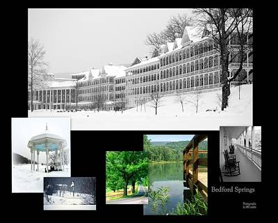 Photograph - Bedford Springs by Mary Beth Landis