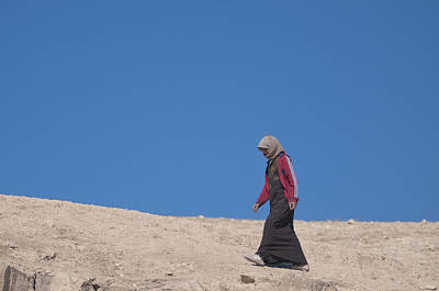 Photograph - Bedouin Women by Don Wolf