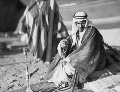 Bedouin Photograph - Bedouins In Jordan by Underwood Archives
