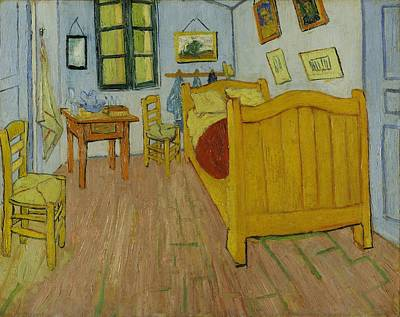 Painting - Bedroom In Arles by Vincent Van Gogh