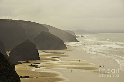 Photograph - Bedruthan Sands by James Lavott