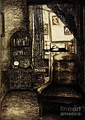 Drawing - Bedsit Refuge by Leanne Seymour