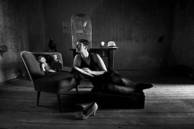 Read Wall Art - Photograph - Bedtime Stories by Mario Grobenski -